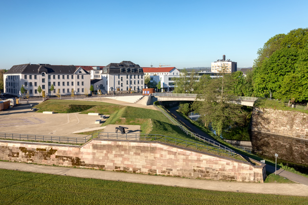 Historische Anlage in Saarlouis, Saarland