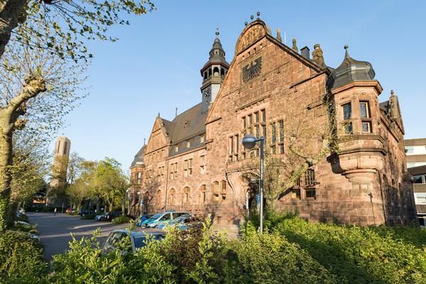 Rathaus in Dillingen, Saarland