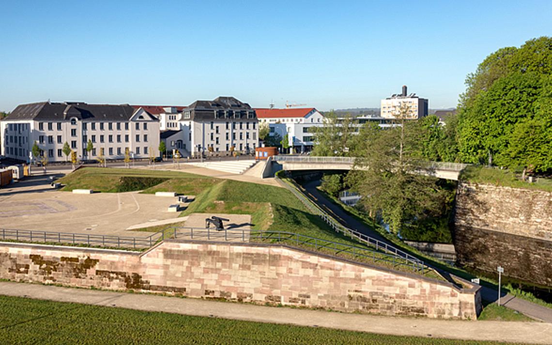 Historische Anlage in Saarlouis (Quelle: bildtankstelle.de)